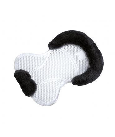 amortisseur de dos norton en gel renforcé mouton noir equitation