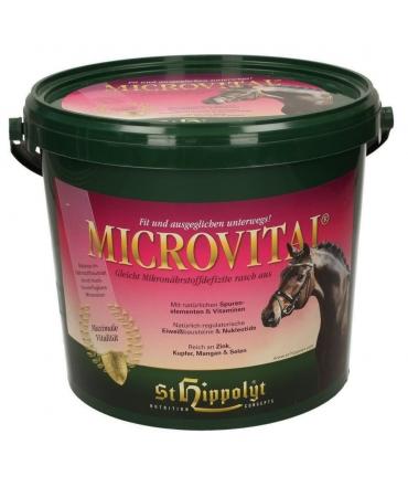 complément chevaux microvital st hippolyt