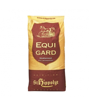 aliment chevaux fourbure equigard muesli st hippolyt sac 20kg