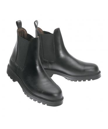 boots d'équitation norton safety cuir noir