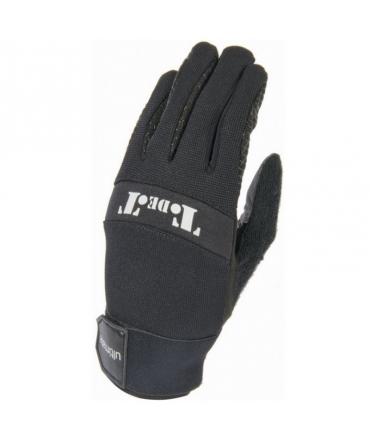 gants d'équitation t de t ultimate été  grip noir