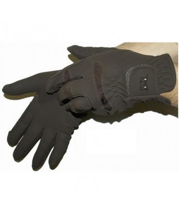 gants d'équitation t de t galop marron