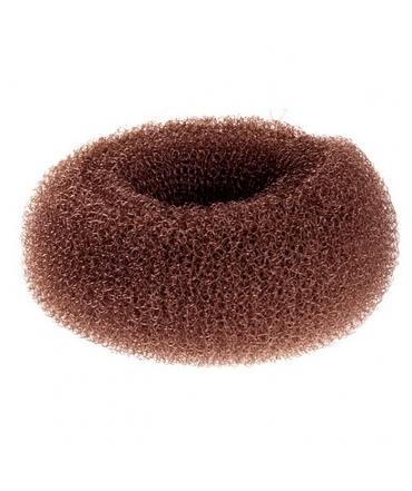 Donuts pour cheveux BR marron chignon