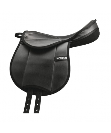 Selle éducative NORTON rexine junior noir