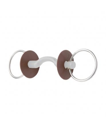 mors deux anneaux beris avec passage de langue