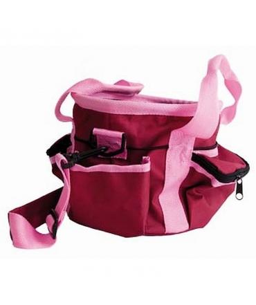 sac de pansage d'équitation t de t petit modèle rose