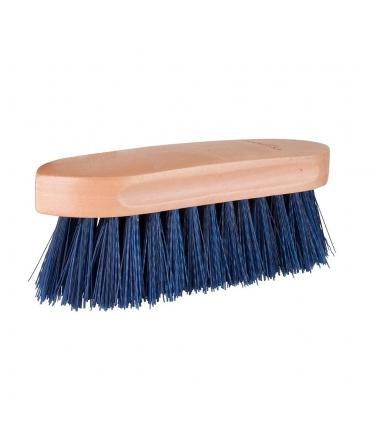 bouchon de pansage cheval première bleu bois