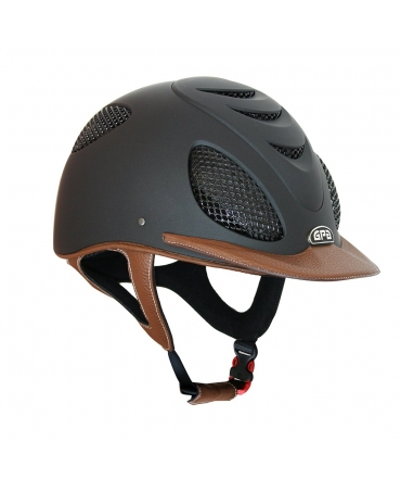 casque GPA speed air leather 2x cuir