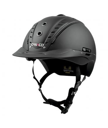 casque d'équitation casco léger et aéré mistrall 2 noir