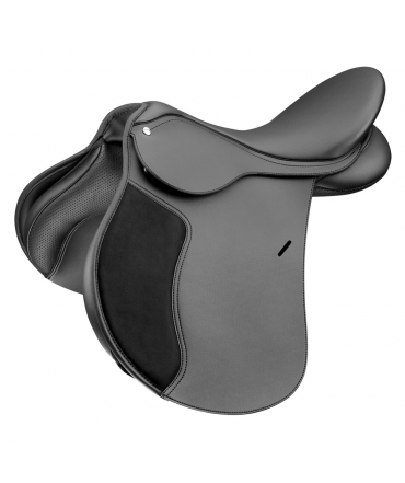 Selle WINTEC 250 mixte noir équitation arcade interchangeable