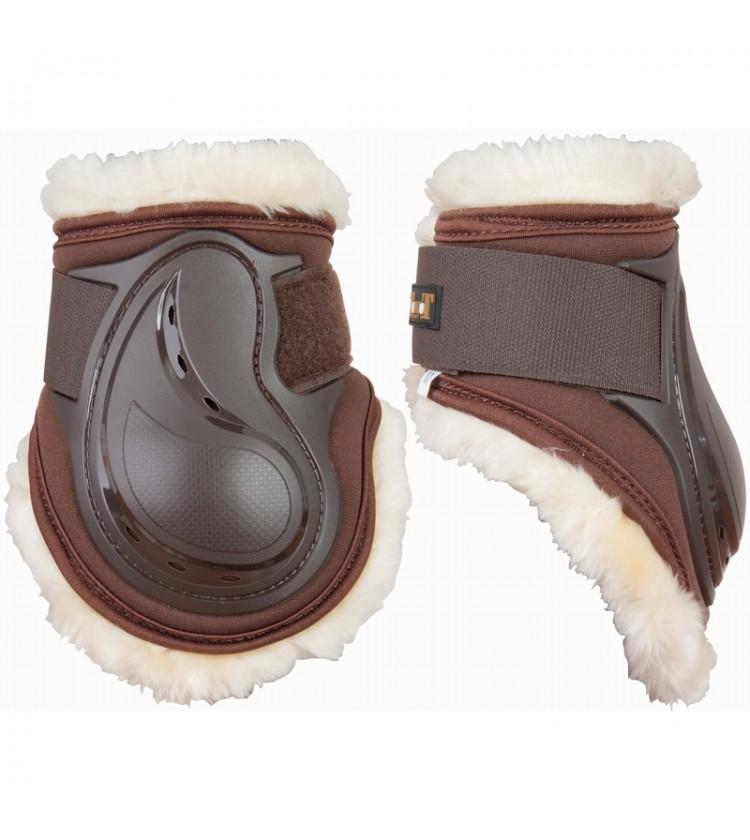 protège-boulet cheval t de t design mouton marron