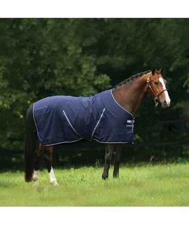Chemise horseware rambo stable sheet cheval marine